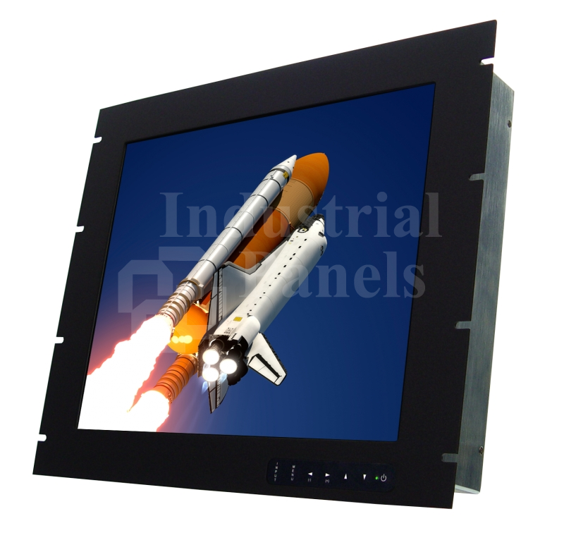 In Industrial Rack Mount Monitor on rgb led display panel