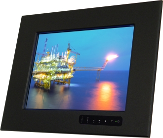 15 In Industrial Panel Mount Display