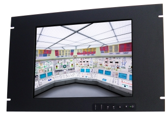 15 In Industrial Rack Mount Monitor