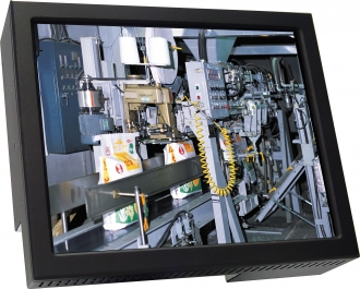 17 In Wall Mount Industrial Monitor