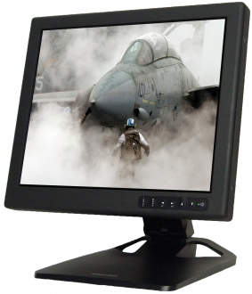 "19"" COTS Tabletop Rugged LCD Display"