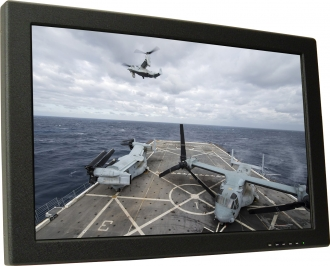24 In Mil-Spec, COTS Rugged LCD Display
