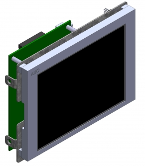 5.7 in Open Frame Chassis Mount Industrial Display