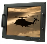 "17"" Mil-Spec, COTS Rugged Display Panel Mount"