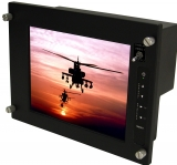 "10.4"" MIL-SPEC, COTS Rugged LCD Color Display"